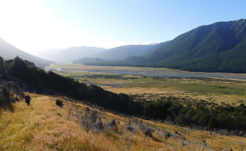 Hurunui River above Hoka Kura
